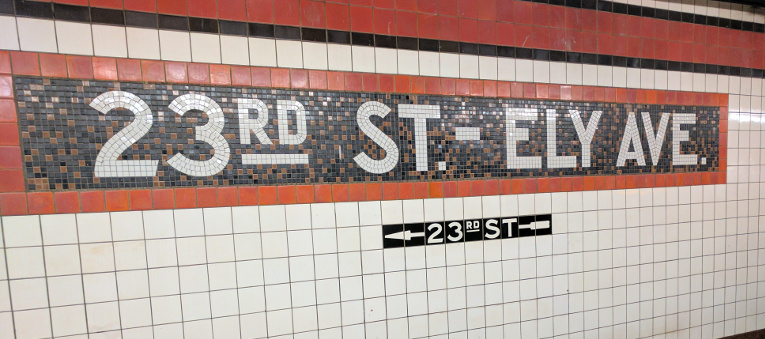 Mosaïque « 23rd St - Ely Ave »